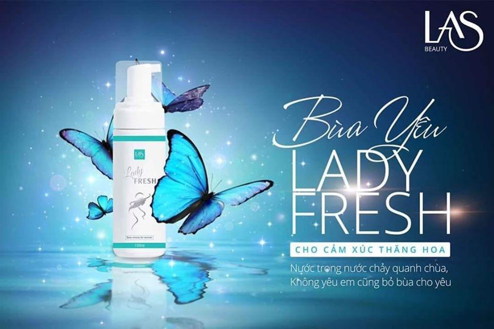 Bọt rửa phụ khoa Lady Fresh Las Beauty